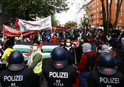 المانيا تحظر مظاهرات داعمة لفلسطين