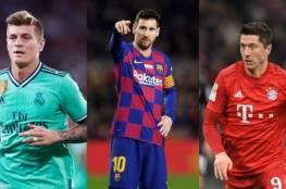 أفضل 5 لاعبين في مرحلة المجموعات من دوري أبطال أوروبا