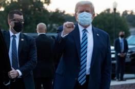 ترامب: 85% ممن يرتدون كمامات يصابون بكورونا