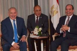 صور: نتنياهو التقى السيسي وناقشا السلام الاقليمي وطلب مساعدته في اطلاق سراح اسرى اسرائيل
