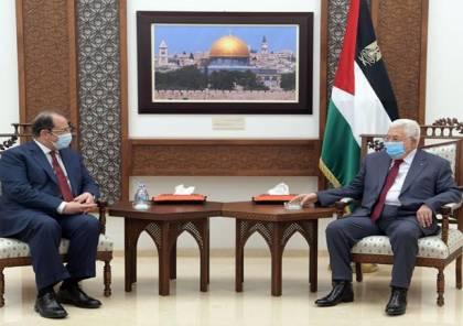 تفاصيل اجتماع الرئيس عباس مع رئيس المخابرات المصرية