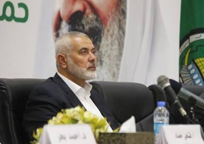هنية: الربط بين المصالحة وإنهاء الحصار عن غزة تعثر وسنمضي في ملف التهدئة