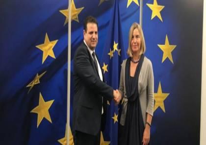 الاتحاد الأوروبي يخيب آمال المشتركة ويرفض التدخل او مناقشة قانون القومية