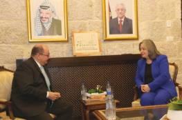 فلسطين وسلوفاكيا تبحثان افاق التعاون الثنائي