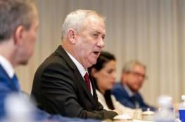 وزير الجيش الاسرائيلي: بحثنا مع واشنطن مبادرات لمساعدة السلطة الفلسطينية