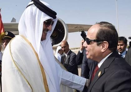 قطر ومصر تتوصلان إلى  اتفاق حول استئناف عمل السفارات