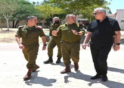 """غانتس: """"سنعمل على استعادة الجنود الأسرى.. ومستعدون لجميع السيناريوهات مع قطاع غزة"""""""