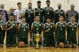 غزة هاشم يصعد لدوري الدرجة الأولى لكرة السلة بالأردن