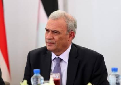 أبو عمرو يطلع وفدا من معهد بيكر على تطورات القضية الفلسطينية