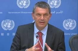 المفوض العام للأونروا : التبرعات العربية تراجعت والتحدي الحقيقي في تغطية العجز المالي