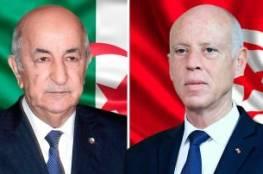 رسالة من الرئيس الجزائري إلى نظيره التونسي
