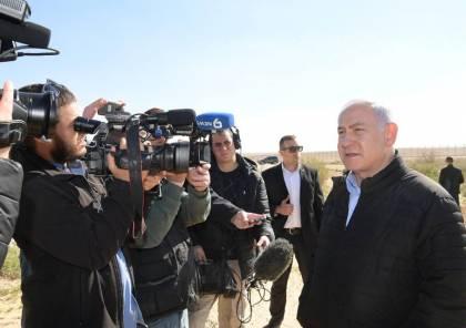 نتنياهو من الغلاف: اي هجوم من حماس سيتبعه رد مضاعف ومتكرر