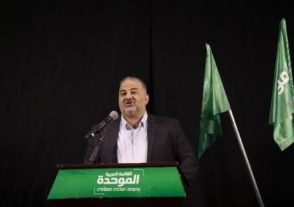 """لهذا السبب.. منصور عبّاس اجتمع بحاخام """"الصهيونية الدينية"""" دروكمان"""