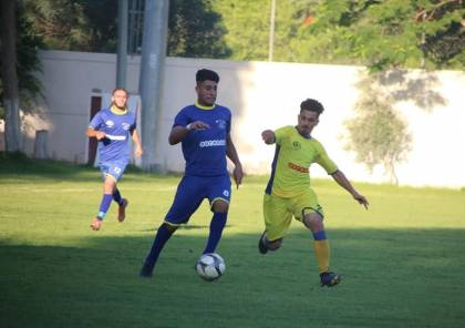 جدول مباريات الجولة القادمة من دوري غزة