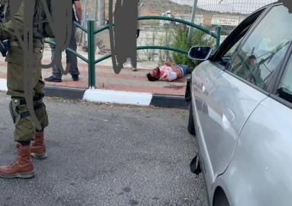صور: اصابة جنديين اسرائيليين في عملية دهس على مفترق زعترة بنابلس وتحييد المنفذ