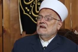 """""""الجهاد"""" تعقب على قرار ابعاد الشيخ عكرمة صبري عن الاقصى: أخطر وسائل القمع والإرهاب"""