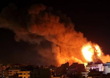 طائرات الاحتلال الاسرائيلي تقصف عدة مواقع في قطاع غزة