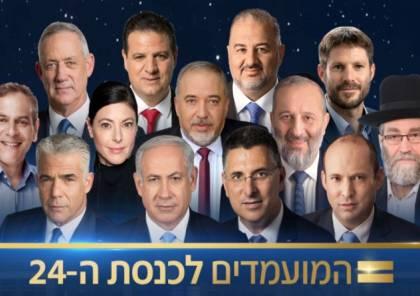 اللجنة المركزية تصادق على نتائج الانتخابات الاسرائيلية