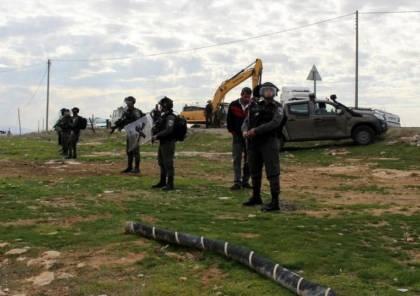 الاحتلال يستولي على 13 دونما من أراضي بلدة حزما شرق القدس المحتلة