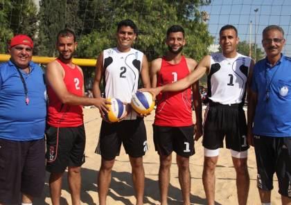 اتحاد الطائرة يعتزم تنظيم بطولة الكرة الشاطئية