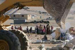 """الاحتلال يهدم قرية """"العراقيب"""" ويشرد أهلها للمرة 186"""