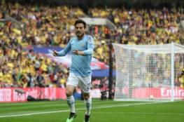 جوارديولا يعلق على رحيل دافيد سيلفا عن مانشستر سيتي