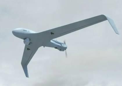 """لأول مرة.. اسرائيل تعرض قدرات طائرة """"هيرمس 45"""" ذات القدرة الفائقة وطويلة المدى"""