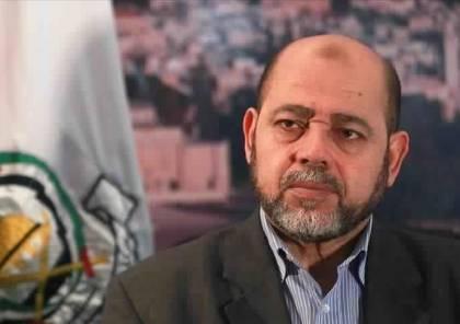 """ابو مرزوق : نُرحب بلقاء """"أبو مازن""""و رفضنا عدة وساطات لفتح حوار مع الفريق الأمريكي"""