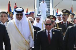 أول تعليق من أمير قطر على ضحايا حادث قطاري سوهاج