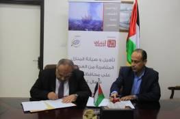 """""""الأشغال"""" بغزة توقع مذكرة لإصلاح أضرار 50 وحدة سكنية"""
