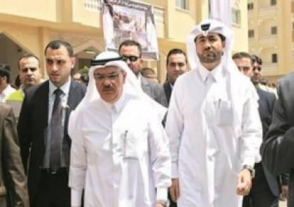 السفير القطري يزور قطاع غزة للاعلان عن منحة جديدة