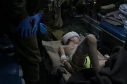 صور : جيش الإحتلال ينقل 6 جرحى سوريين للعلاج داخل إسرائيل