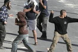 مستوطنون يهاجمون منزلا في بورين جنوب نابلس