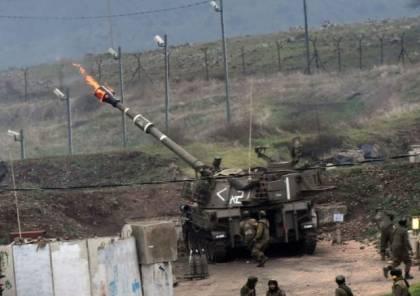 """جيش الاحتلال: دبابة متمركزة على حدود القطاع أطلقت قذيفة نتيجة """"سوء فهم بين القادة"""""""