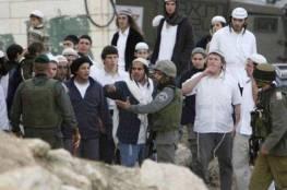 رام الله: مستوطنون يقتحمون حي الطيرة بحماية قوات الاحتلال