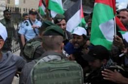 الخليل: الاحتلال يقمع وقفة احتجاجية رفضا لاعتداءات المستوطنين بحق أهالي التواني