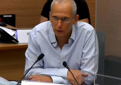 عومير بار ليف: لا نية لاستخدام الاعتقالات الادارية لمكافحة الجريمة في المجتمع العربي