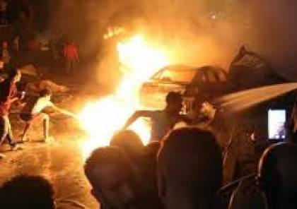 مصر..مصرع 20 شخصا جنوبي القاهرة في حادث تصادم مروع