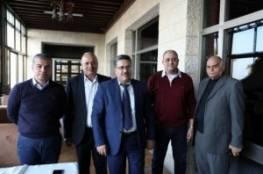 غزة: الوفد الأمني المصري يلتقي بتجمع الشخصيات المستقلة
