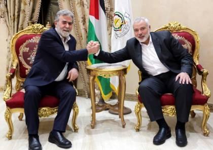 حماس تصدر بيانا حول المباحثات التي أجراها هنية في مصر وهذا ما تناولته ..