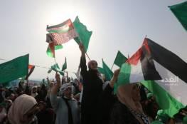 آلاف الأردنيين يحتفون بنصر المقاومة وصمود الشعب الفلسطيني