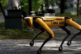 """سنغافورة تستعين بـ """"الكلب الآلي"""" في مواجهة كورونا"""