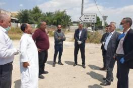 وزير الحكم لمحلي يتفقد عدداً من قرى الأغوار