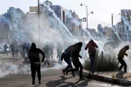 إصابات خلال مواجهات مع الاحتلال برام الله