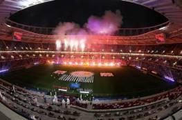 أمير قطر يفتتح ملعب الريان المونديالي (فيديو وصور)