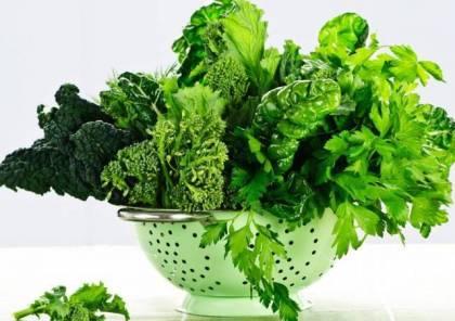الخضروات الورقية تحافظ على صحة القلب