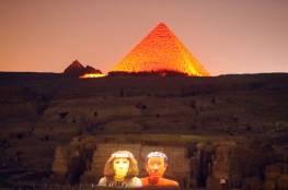 مصر: حسم الجدل حول باب الأهرام السري العجيب