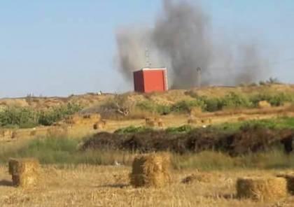 الاحتلال يوضح طبيعة الانفجار الذي هز المناطق الحدودية شرق قطاع غزة