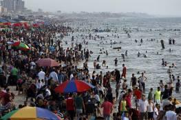 بحر غزة غير صالح للاستجمام حتى إشعار آخر