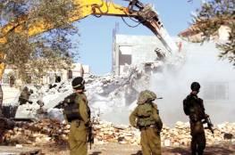 الأمم المتحدة :الاحتلال يهدم 52 منزلا خلال اسبوعين و200 أسرة تواجه خطر الخلاء